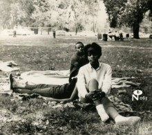eccentric soul_sitting in the park